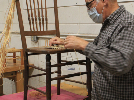 Learn to weave! Seats or baskets!