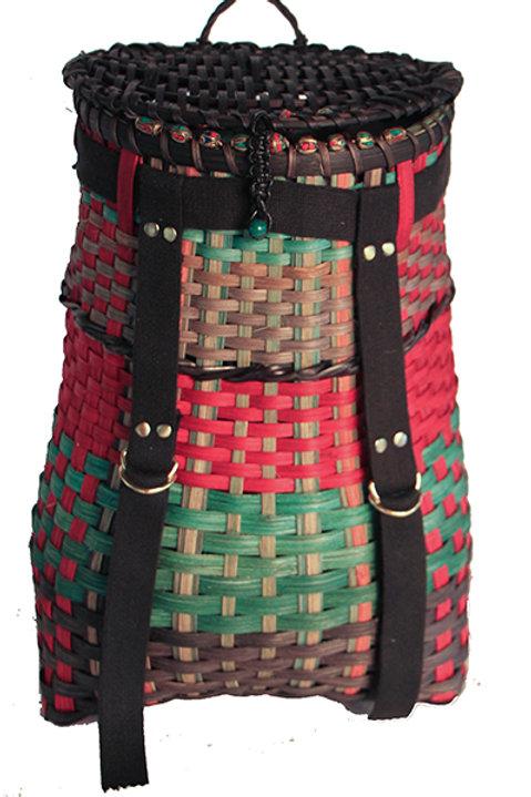 Tibetan Inspired backpack