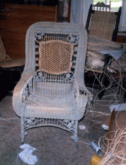 "Wicker ""In Progress"""