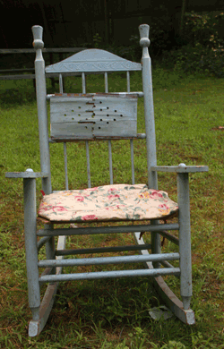 "Child's Rocker ""Before"""