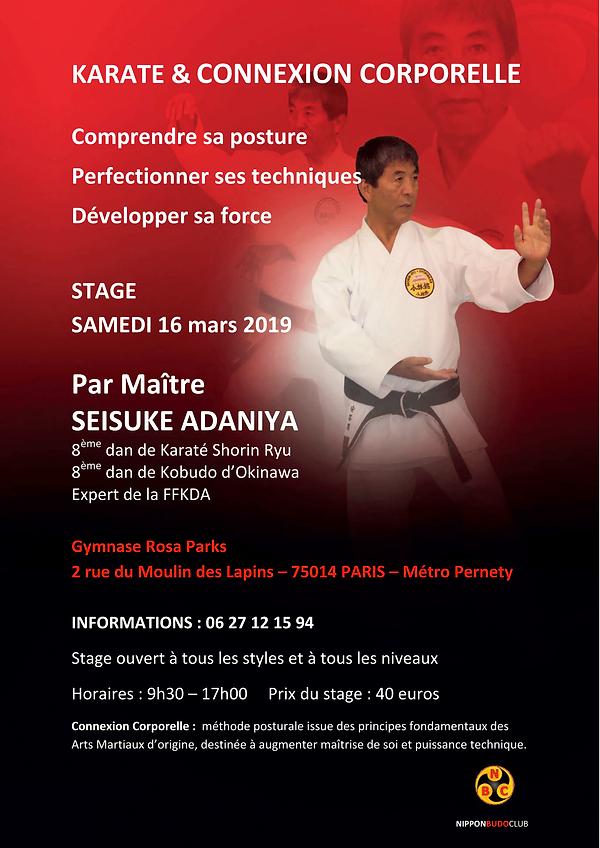 Affiche de stage CC 16 mars 2019 Paris-1