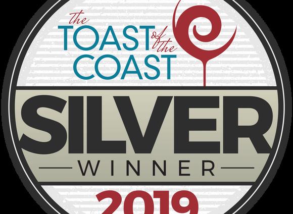 Toast of the Coast 2019 Award