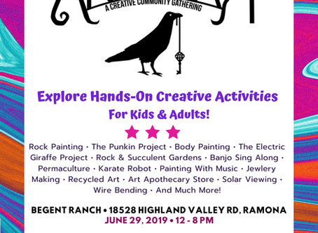 Support Ramona's very own local art festival this weekend!