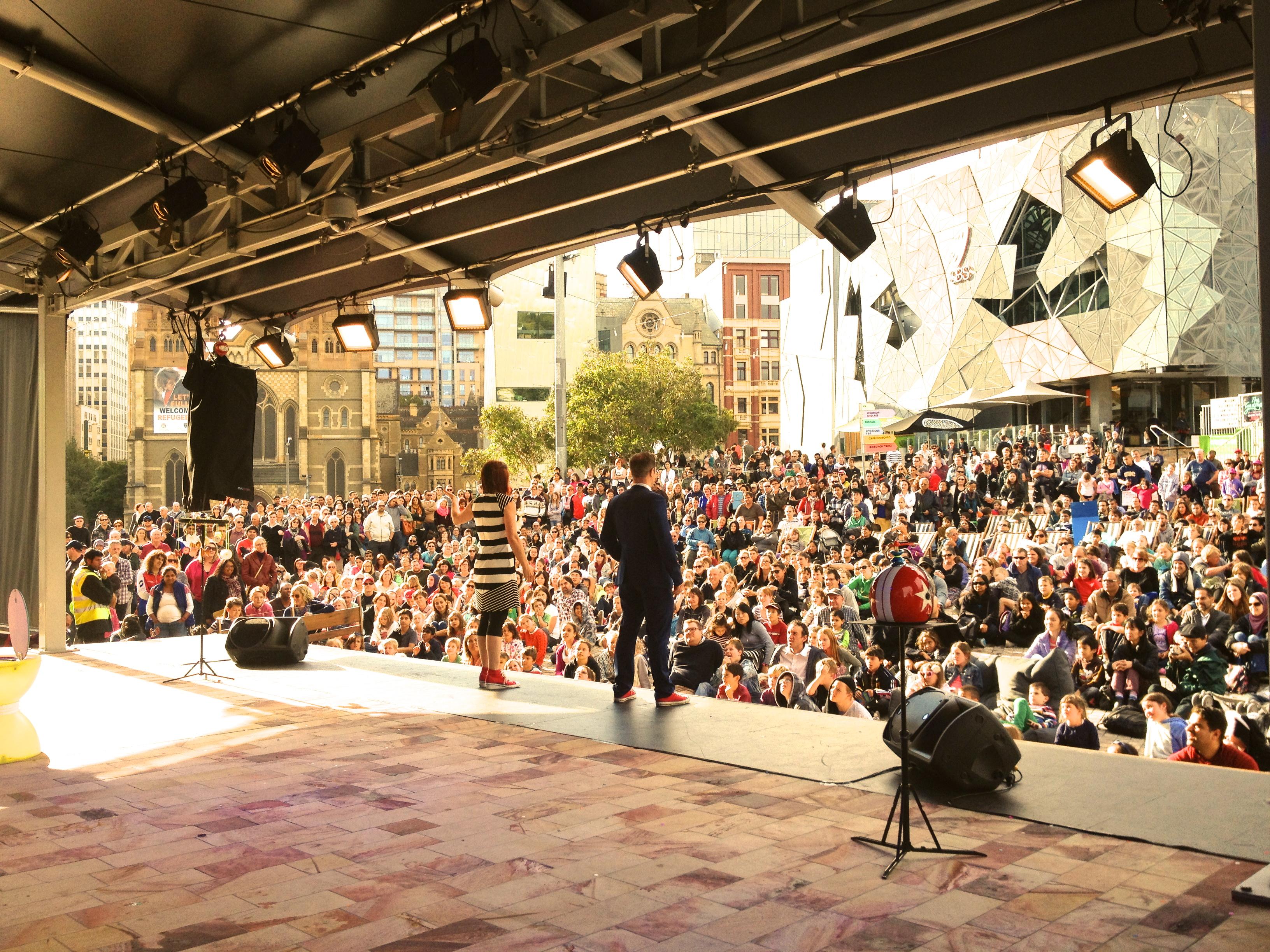 Melbourne Comedy Festival, Australia