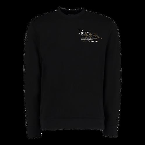 Definition Sweatshirt in Black