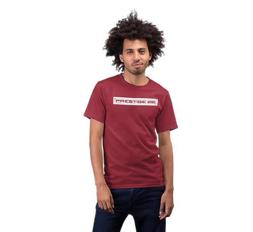 Stamp design Tee in Red