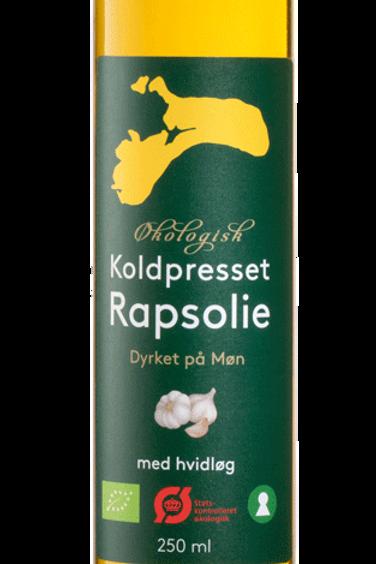 Økologisk Rapsolie med hvidløg
