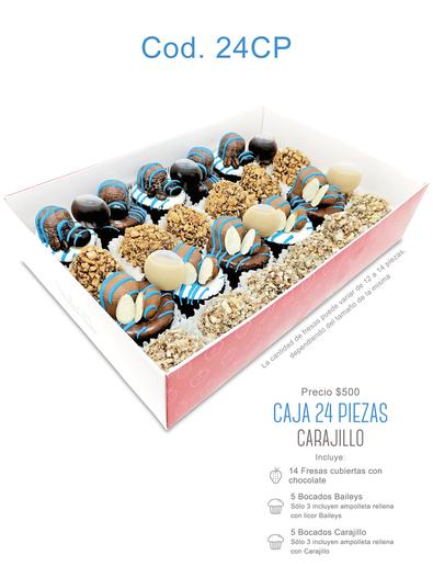 """Caja 24 piezas """"Carajillo"""" $500"""