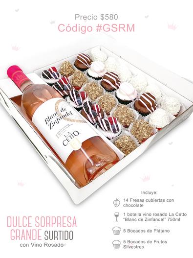 "Dulce Sorpresa Grande Surtido ""Vino Rosado"""