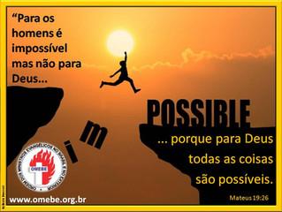 Impossível? Para quem?