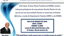 PRIMEIRA REUNIÃO DE 2018: 21.03