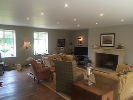 Living Room Electrical Lighting Designs