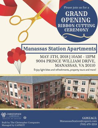 Announcement - Welcome Manassas Station Apartments