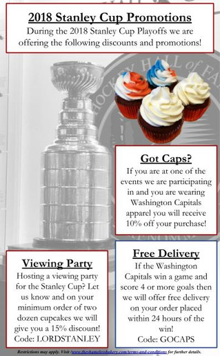 Announcement - The 2018 Stanley Cup Promotions