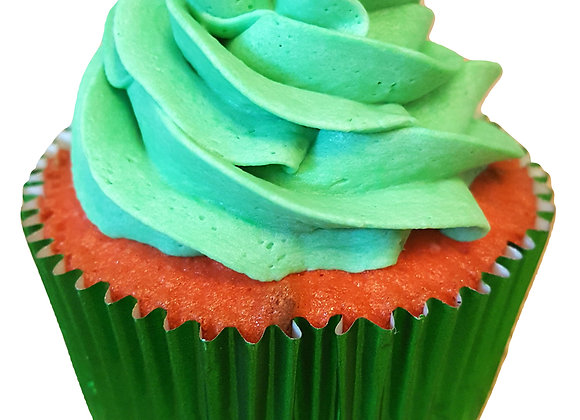 The Busted Melon Cupcake