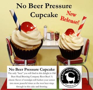 New Release - No Beer Pressure Cupcake