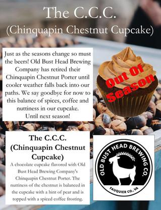 The C.C.C. (Chinquapin Chestnut Cupcake) - Retirement