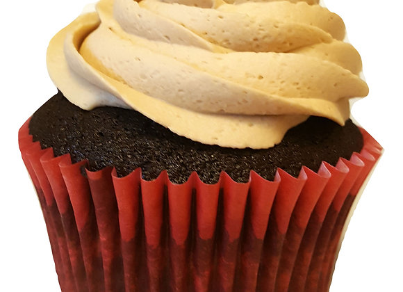 Dark Chili Day Cupcake
