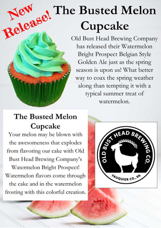 New Release - The Busted Melon Cupcake