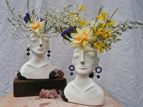 Satin Matte Andromeda Vase