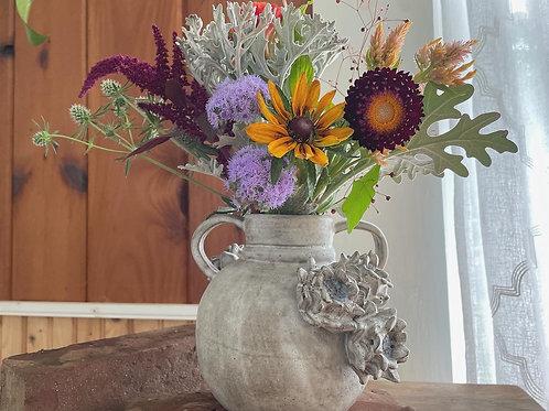Floral Vessel // Handbuilt Vase