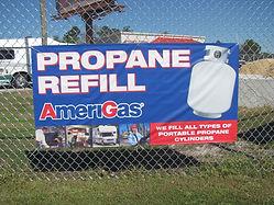 We fill propane tanks!