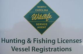 Hunting and Fishing Licenses sold here!