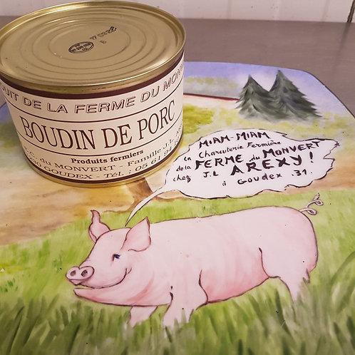 Boudin boite de 400 g  Ferme du Monvert