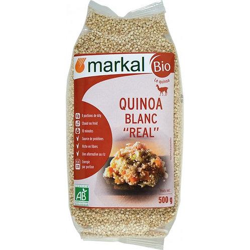 QUINOA REAL BLANC 500G - MARKAL