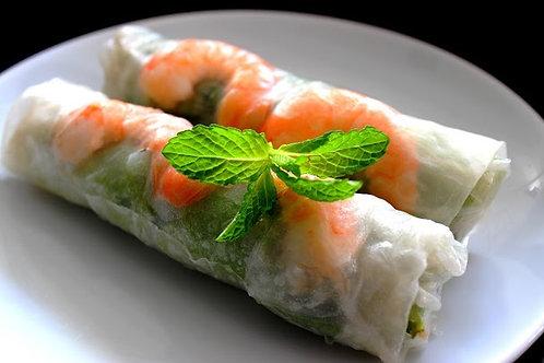 2 Rouleaux de printemps Chez May Traiteur Thaïlandais