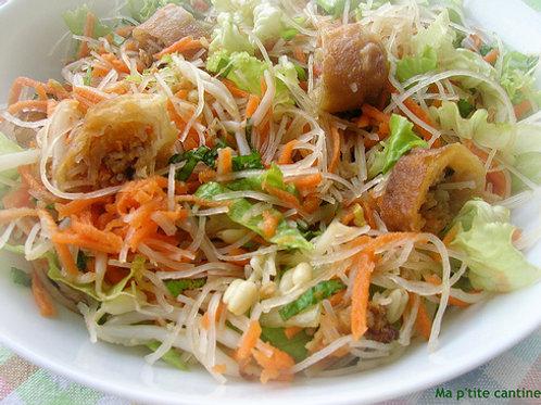 Salade de Nems Chez May Traiteur Thaïlan