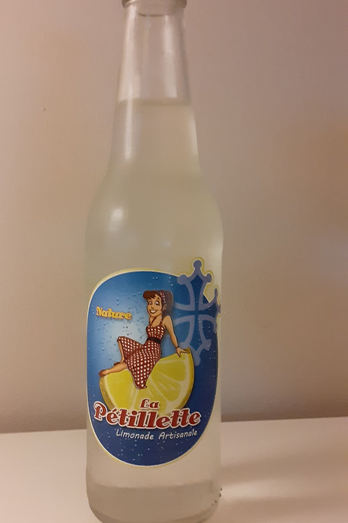 Limonade Nature Artisanale 33 cl La Petillette