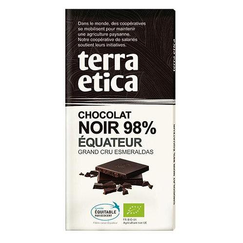Chocolat Noir Terra Etica