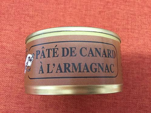 Pâté de canard à l'armagnac 180 gr La Ferme du Coudin