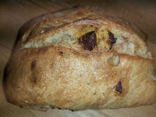 PAIN AU CHORIZO BIO 500 gr Le pain de l'Oustal