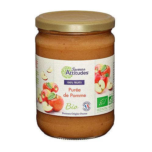 Purée de Pommes Bio Saveurs Attitudes