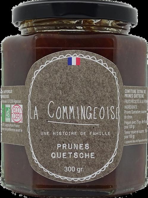 Confiture Prunes - Quetsches -  BIO 300 gr La Commingeoise