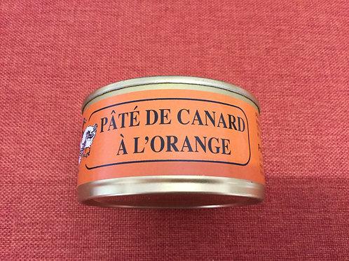 Pâté de canard à l'orange 180 gr La Ferme du Coudin