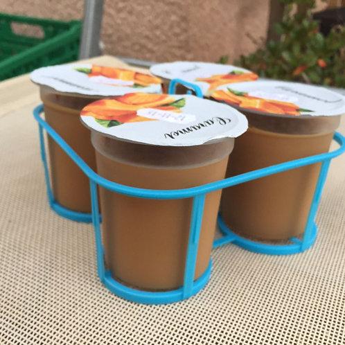 Crèmes dessert Caramel Yaourts et Cie de la ferme