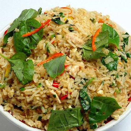 Accompagnements : Riz thaï légumes Chez May Traiteur Thaïlandais
