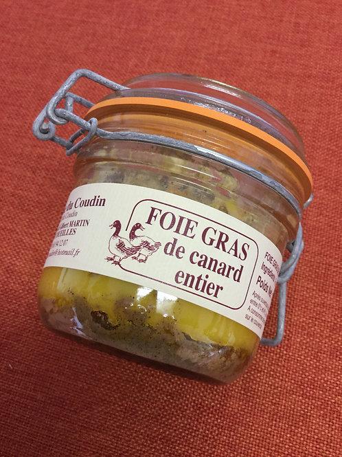 Foie gras de canard entier 180 gr La Ferme du Coudin