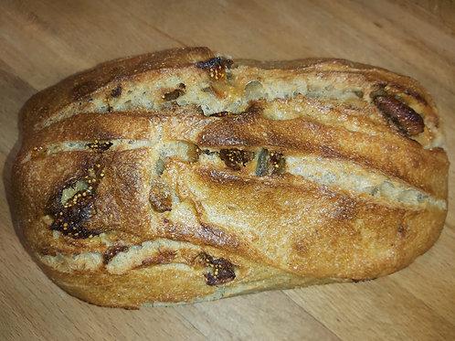 PAIN AUX FIGUES BIO 500 gr Le pain de l'Oustal