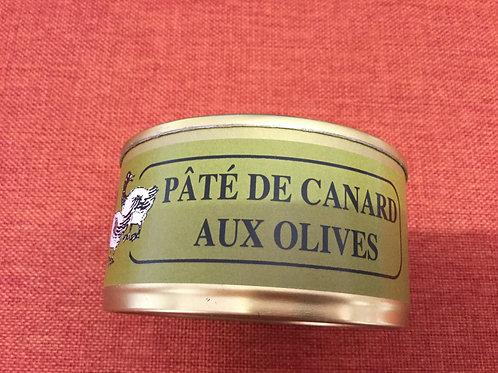 Pâté de canard aux olives  180 gr La Ferme du Coudin