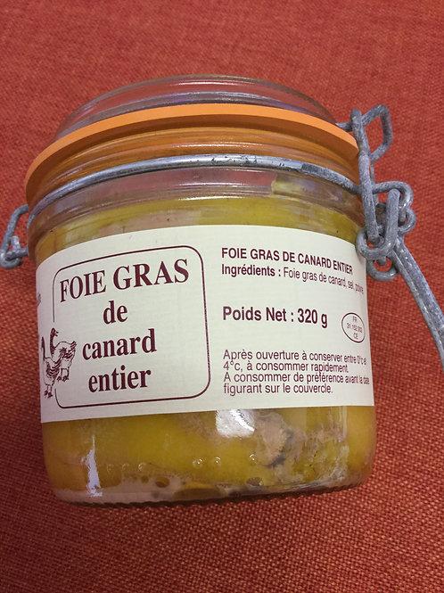 Foie gras de canard entier 320 gr La Ferme du Coudin