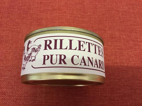Rillettes pur canard 180 gr La Ferme du Coudin