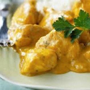 Les plats Poulet au curry Chez May Traiteur Thaïlandais