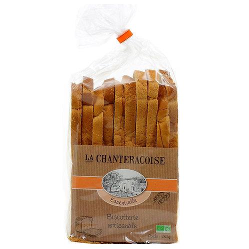 Biscottes Bio Essentielle Nature La Chanteracoise