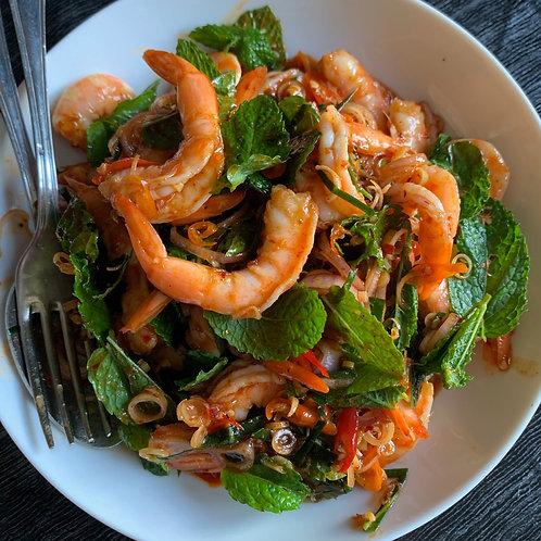 Crevettes Pipawo Chez May Traiteur Thaïlandais
