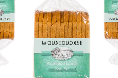 Biscottes Bio Sans sel La Chanteracoise