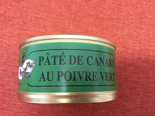 Pâté de canard au poivre vert 180 gr La Ferme du Coudin
